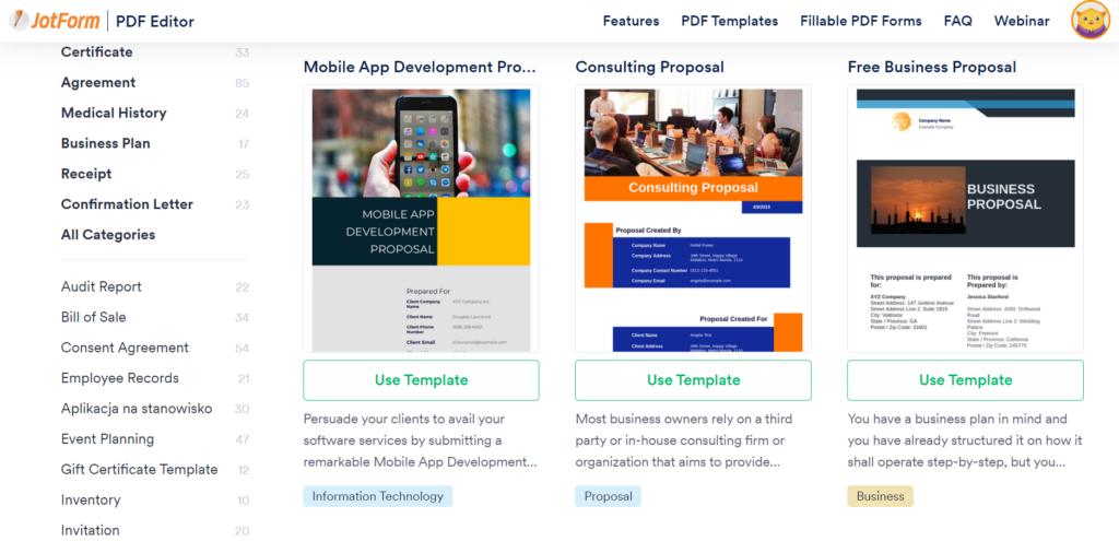 eu.jotform.com – PDF editor and templates