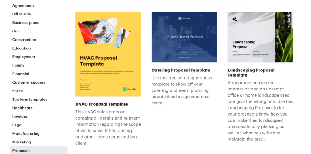 pandadoc.com – create, send and download business proposals in PDF