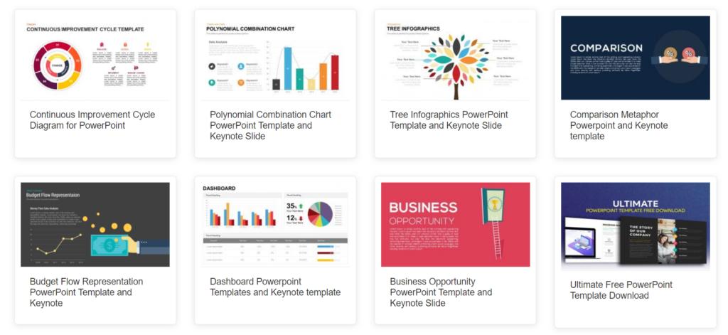 slidebazaar.com – useful diagram and chart templates
